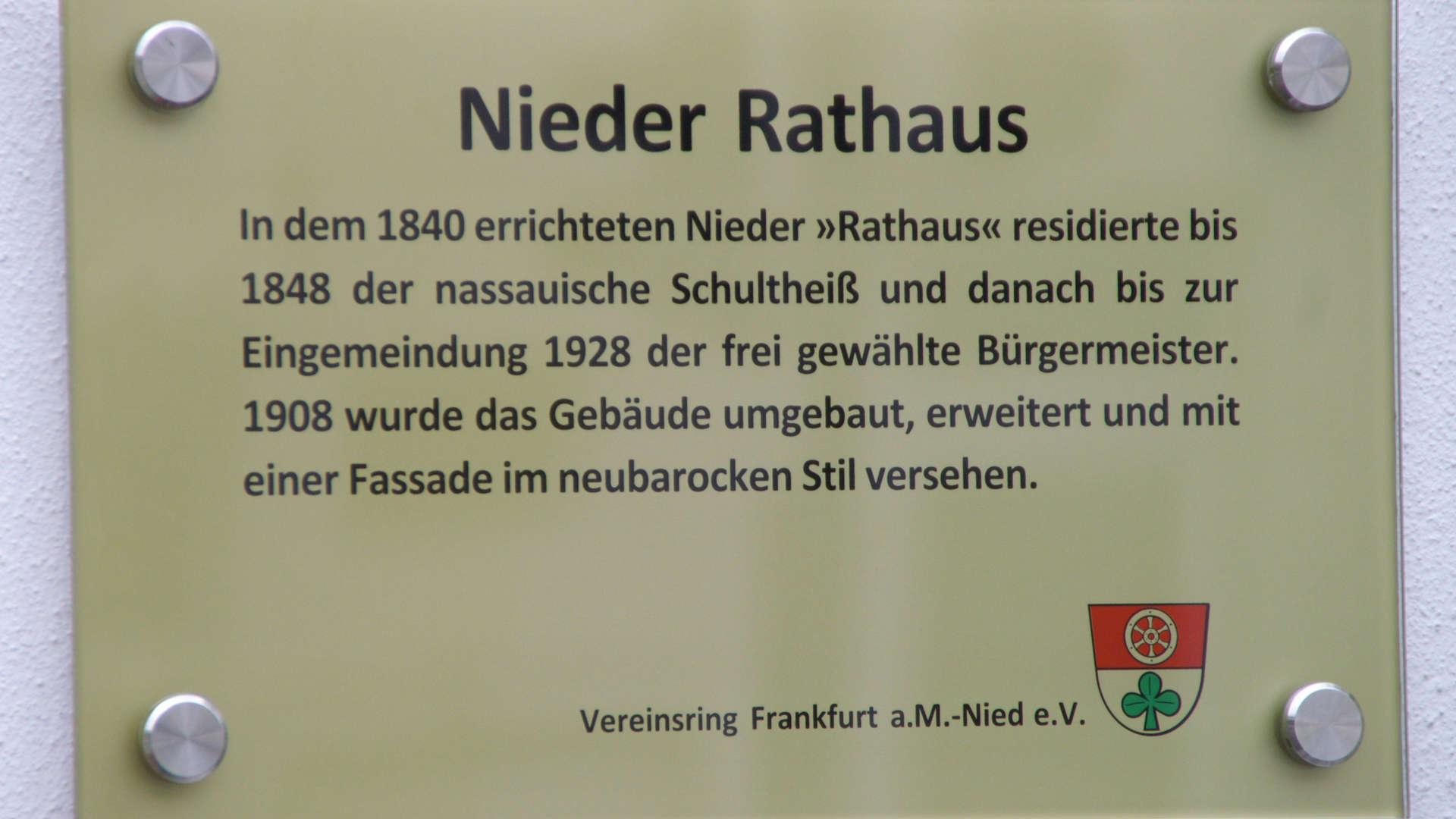 Nieder Rathaus