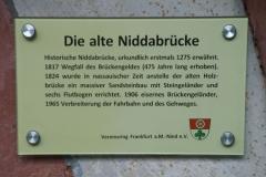 Die alte Niddabrücke