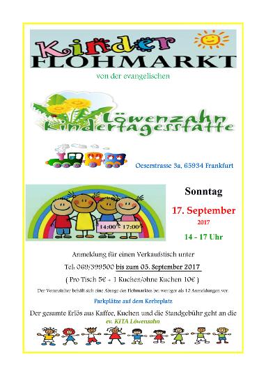17.09.2017 KiTa Löwenzahn Kinder-Flohmarkt