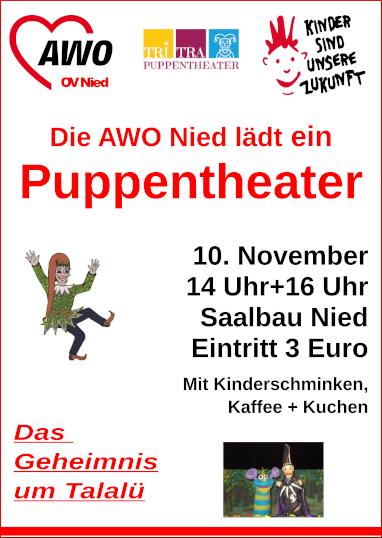 10.11.2018: AWO, Puppentheater