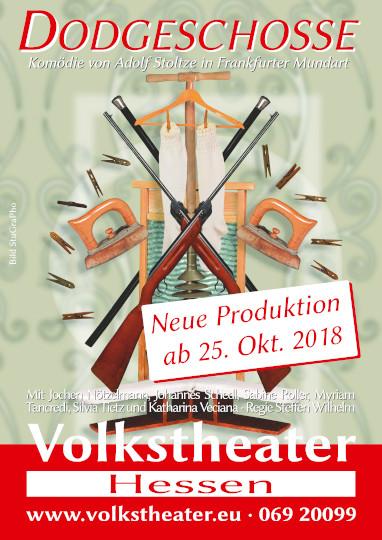 10. - 12.04.2019, Volkstheater, Dodgeschosse