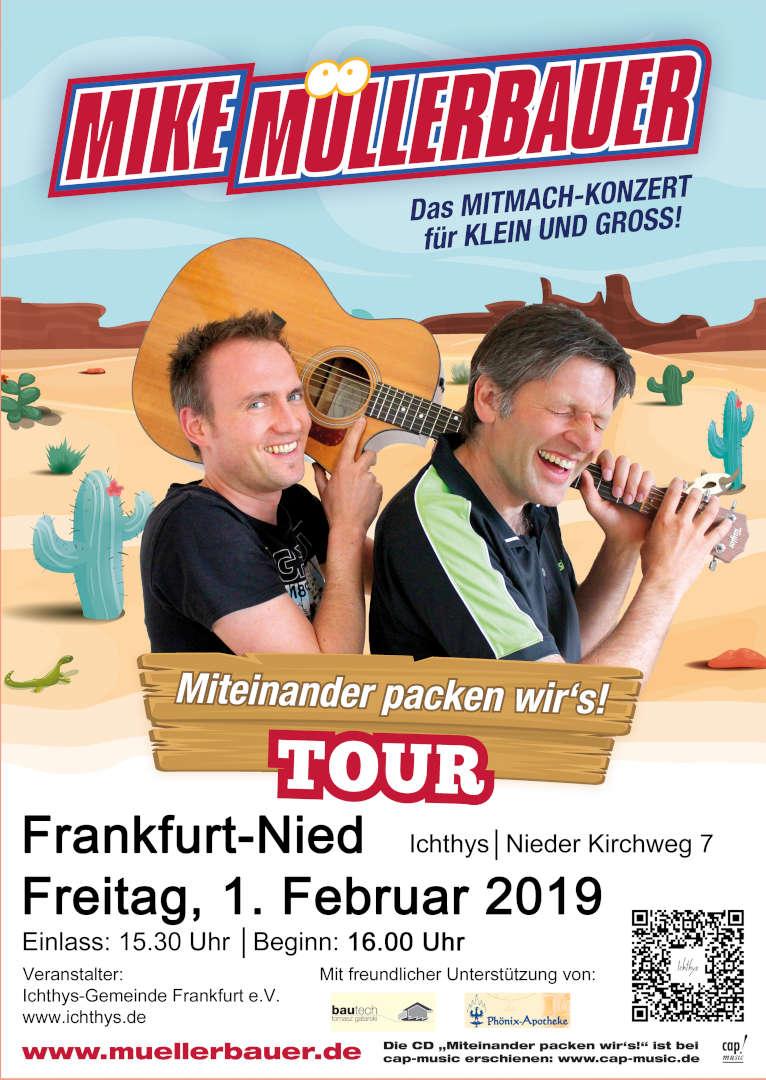 01.02.2019: Ichthys-Gemeinde, Mike Müllerbauer, Das Mitmach-Konzert für Klein und Groß