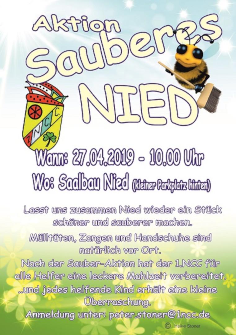 27.04.2019, 1.NCC, Aktion Sauberes Nied 2019